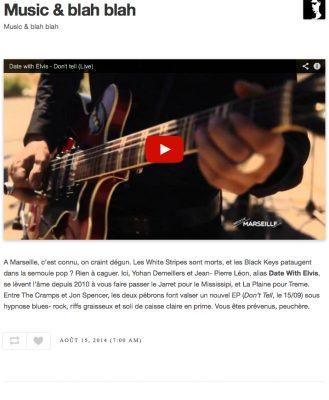 Music & blahblah 15-08-2014